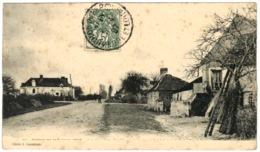 72 - Circuit De La Sarthe 1906 - Les Carrières - Le Circuit Laissant Au Fond La Route De La Ferté Bernard - La Ferte Bernard