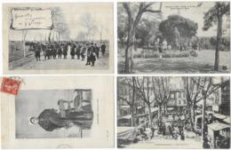 Lot De 400 Cartes/France/Etranger/Fantaisies...Format CPA - Postcards
