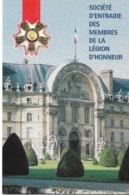 Société D'entraide De La Légion D'Honneur Carte Double Neuve. Envoi 0,86 €. - Patriotiques