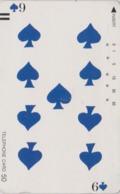 Télécarte Ancienne Japon / 110-11800 - Jeu De Cartes CARTE A JOUER - PLAYING CARD - Japan Front Bar Phonecard / A - Giochi