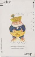 Télécarte Ancienne Japon / 110-11805 - Jeu De Cartes CARTE A JOUER - PLAYING CARD - Japan Front Bar Phonecard / A - Giochi