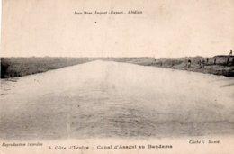 COTE D IVOIRE-CANAL D ASAGNI AU BANDAMA - Costa D'Avorio