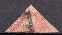 CAP DE BONNE ESPERANCE (Colonie Britannique) -1855-63 - N° 3 - 1 P. Rose-rouge - África Del Sur (...-1961)