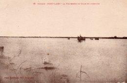TCHAD-FORT LAMY-LA TRAVERSEE DU CHARI EN PIROGUES - Ciad