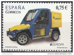 España 2013 Yvert 4486 Neuf ** Cote (2015) 2.30 Euro Europa CEPT Véhicule Postale - 1931-Aujourd'hui: II. République - ....Juan Carlos I