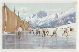 PELLEGRINI N° M8 -  Hochey Sur Glace - Neige Glace Sport D'hiver - Andere Illustrators