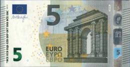 ! 5 Euro, M004I6, MA1268517476, Currency, Banknote, Billet Mario Draghi, EZB, Europäische Zentralbank - EURO