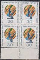 Berlin 1971 Mi-Nr.416 4er Block ** Postfr. 100 Jahre Materialprüfung In Berlin ( B1237 )günstige Versandkosten - Ungebraucht