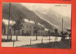 KAC-28 Chamonix  La Gare, Calèche. Non Circulé. - Chamonix-Mont-Blanc