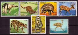 PARAGUAY  - 1984 - Fauna - 7v ** - Stamps