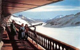 Switzerland Jungfraujoch, Berghaus-Galerie Und Aletschgletscher, Mountains - Suisse