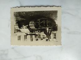 1WK Foto  Panzer Britische  Kampfwagen? - 1939-45