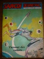 Samedi Jeunesse Mensuel N°147, Janvier 1970: L'assaut Des Robots - Samedi Jeunesse
