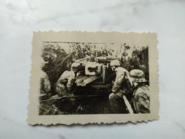 2WK Foto  Panzer Wehrmacht Soldaten KANONE - 1939-45