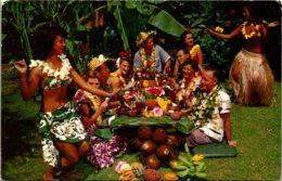 Hawaii Honolulu Don The Beachcomber's World Famous Luau - Honolulu