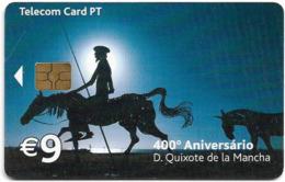 Portugal - PT - 400º Anos D. Quixote De La Mancha - PT430 - 60.000ex, 05.2005, Used - Portugal