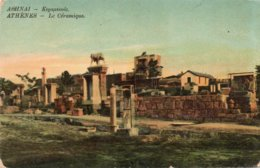 ATHENES-LE CERAMIQUE-1916 - Grecia