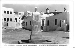 CPA MYCONOS -buste Manto Mavrogenous - Grecia