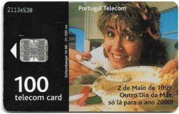 Portugal - PT - Dia Da Mãe 99 - PT227 - 31.500ex, 04.1999, Used - Portugal