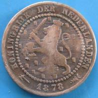PAYS-BAS,  1 Cent Lion Couronné 1901, Utrecht, TB - [ 2] 1795-1814 : Protettorato Francese & Napoleonico