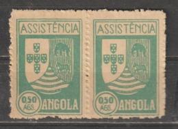 ANGOLA CE AFINSA IMPOSTO POSTAL 5 - PAR NOVO - Angola