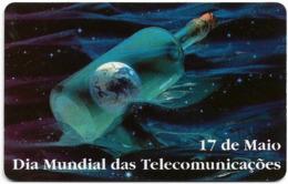 Portugal - PT - Dia Mundial Das Telecomunicações - PT121 - 15.000ex, 04.1997, Used - Portugal