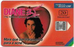 Portugal - PT - Diane 35 - PT103 - 9.000ex, 09.1996, Used - Portugal