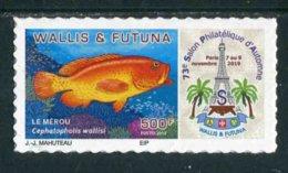 """TIMBRE Adhésif ** De 2019 De WALLIS ET FUTUNA """"73e SALON PHILATELIQUE D'AUTOMNE - LE MEROU"""" - Wallis-Et-Futuna"""
