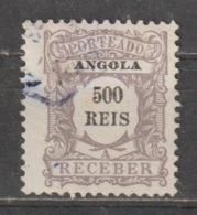 ANGOLA CE AFINSA PORTEADO 10 - USADO - Angola