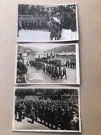 VENTIMIGLIA FESTA DELLO STATUTO. CARABINIERI. ALPINI. ANNI '30. 3 CARTOLINE FOTOGRAFICHE - Imperia