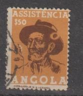 ANGOLA CE AFINSA IMPOSTO POSTAL 7 - VARIEDADE (CHAPEU DO COLONO) - Angola