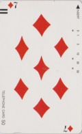 Télécarte Ancienne Japon / 110-11772 - Jeu De Cartes CARTE A JOUER - PLAYING CARD - Japan Front Bar Phonecard / A - Giochi
