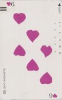 Télécarte Ancienne Japon / 110-11784 - Jeu De Cartes CARTE A JOUER - PLAYING CARD - Japan Front Bar Phonecard / A - Giochi