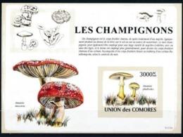 COMORES :   MUSHROOMS   MNH (imperforated) - Komoren (1975-...)
