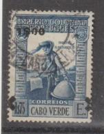 CABO VERDE CE AFINSA 264 - SOBRECARGA DESLOCADA - Islas De Cabo Verde