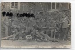 59 ST AMAND CARTE PHOTO SOLDATS ALLEMANDS 1918 - Saint Amand Les Eaux