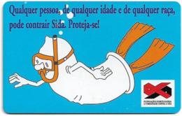 Portugal - PT - Sida Mergulhador - PT190 - 31.500ex, 01.1998, Used - Portugal