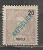 ANGOLA CE AFINSA 160 - NOVO COM CHARNEIRA - Angola
