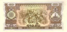 LAOS P. 21b 20 K 1975 UNC - Laos