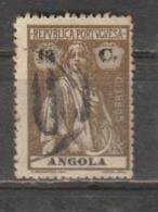 ANGOLA CE AFINSA 205a - IMPRESSÃO DUPLA DA TAXA - Angola