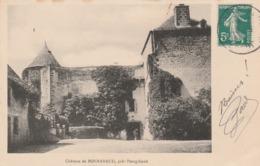 CPA 63 : Château De BONNABAUD, Près PONTGIBAUD - France
