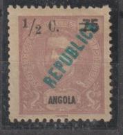 ANGOLA CE AFINSA 192 - NOVO COM CHARNEIRA - Angola