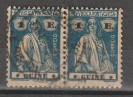 GUINE CE AFINSA 197 - PAR USADO - Guinea Portuguesa