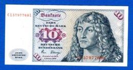 All  10  Mark  1980 - 10 Deutsche Mark