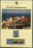 Ecuador 1992 WWF Komplettes Kapitel Postfrisch MK FDC Tiere (WW213 - Ecuador