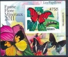 COMORES :  BUTTERLY   MNH (imperforated) - Comoros