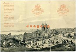 Advertising Brochure Grand Hotel Alexadra Lausanne Suiza Switzerland Suisse Trams - Publicité
