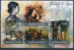 BURUNDI :   MNH :  PAINTINGS : ART : JEANNE D'ARC - 2010-..: Neufs