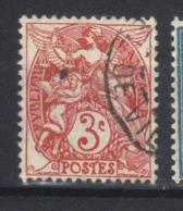 FRANCE   Type Blanc  N° 109 Rouge   Type IB    (1900) - France