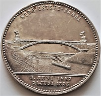 Germany Silver Medal  Wilhelm I, Friedrich III And Wilhelm II 1895 - Royal/Of Nobility